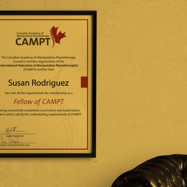 campt – canadian academy of manipulative physiotherapy