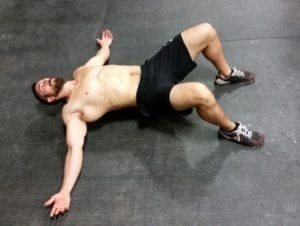 Chest Stretch to minimize CrossFit shoulder pain