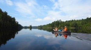 Backcountry canoe camping helps you stay healthier